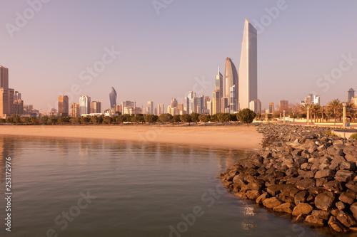 Fototapeta Kuwait City skyline obraz na płótnie