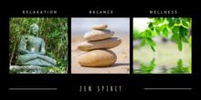 Spa Zen Theme Photo Collage Co...