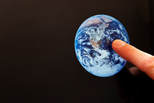 Finger Pointing At The Earth  ...