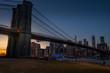 Brooklyn bridge night shot