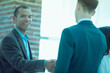 closeup.welcome and handshake of business partners