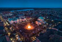 Mohacsi Busojaras  Carnival For Spring Greetings