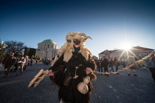 Mohacsi Busojaras Carnival For Spring