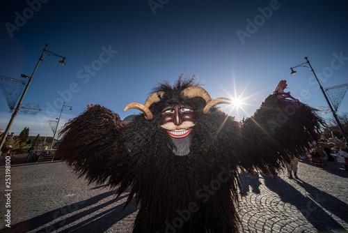 Photo Mohacsi Busojaras carnival for spring