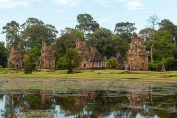 Fototapeta na wymiar Angkor wat in Cambodia