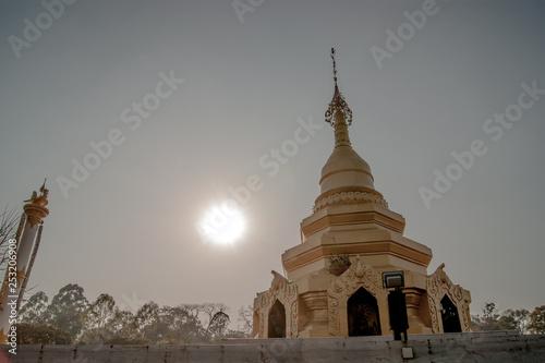 Fotografie, Obraz  pagoda in bagan myanmar
