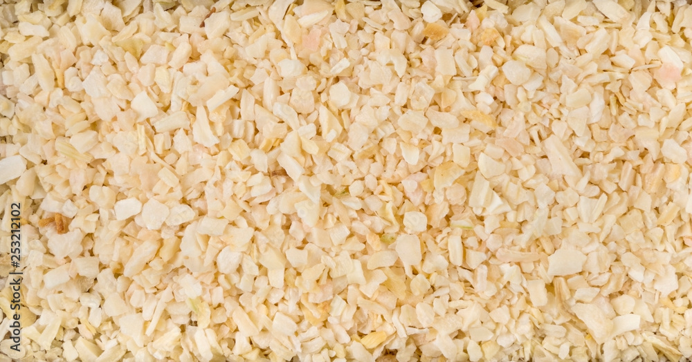 Fototapety, obrazy: dried onion background. Natural seasoning texture. Natural spices and food ingredients.