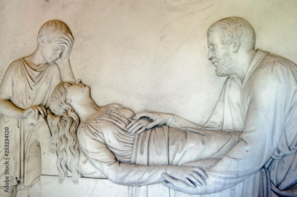 Fototapeta Kilmorey Mausoleum frieze, St Margarets