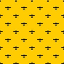 Traditional Religious Totem Pole Pattern Seamless Vector Repeat Geometric Yellow For Any Design