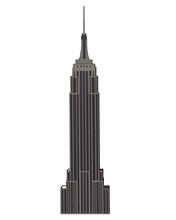 Empire State Building Isolated...