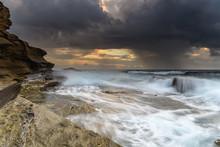 Turbulent Seascape