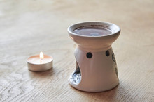 Aroma Lamp With Essential Oil,...