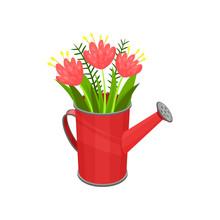 Bouquet Of Fresh Spring Flower...
