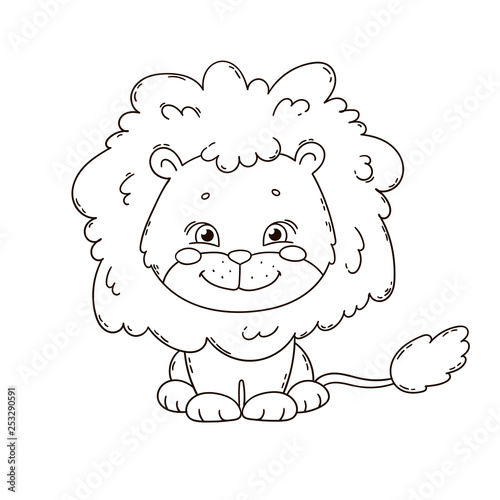 Cute Cartoon Lion Coloring Book Page For Children Black And White Outline Illustration Buy This Stock Vector And Explore Similar Vectors At Adobe Stock Adobe Stock Animals lion black white outline animals black and white art drawings for kids cute lion animals lion sitting cartoon clipart black white outline 914 cartoon. cute cartoon lion coloring book page