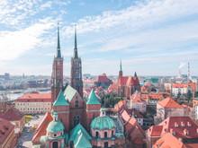 Tumski Island In Wroclaw