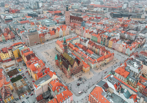 Fotografia  Wroclaw from above