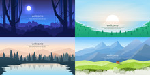 Vector Landscapes Set