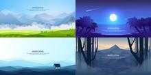 Vector Landscapes Set