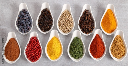 Fototapety, obrazy: Spices,