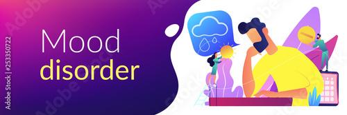 Fotografie, Obraz  Seasonal affective disorder concept banner header.