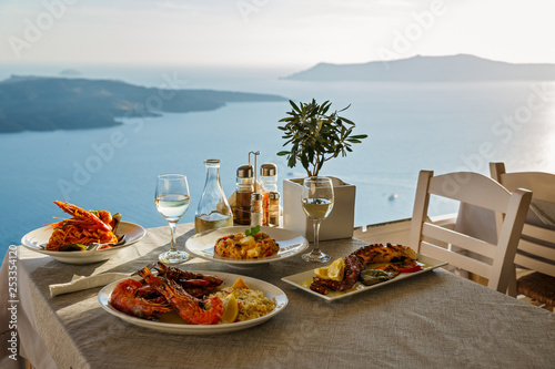 Foto Romantic dinner for two