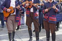Traditional Croatian Musicians...