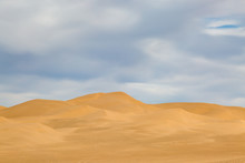 Looking Out Over The Vast Algodones Sand Dune Area, In Southern California