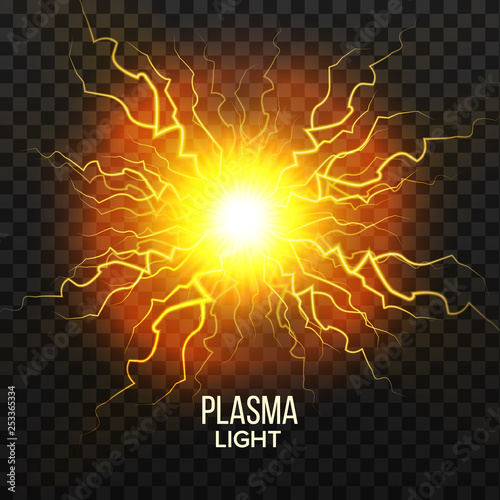 Photographie  Fireball Plasma Vector