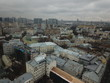 Copter Moscow panorama sity look