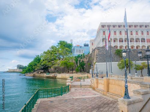 San Juan Puerto Rico At Paseo De La Princesa On The Carribean Sea Buy This Stock Photo And Explore Similar Images At Adobe Stock Adobe Stock