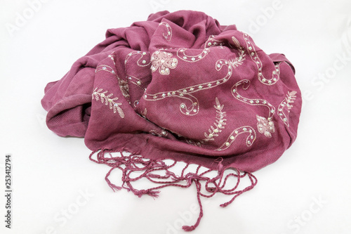 Obraz na plátně Scarf for women fashion, a length or square of fabric worn around the neck or head