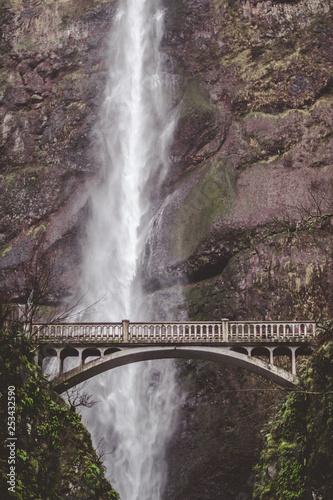 Multnomah Falls Portland Oregon Waterfall
