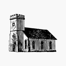 St. Mark's Church Illustration Vector