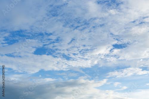 cloud on blue sky Tablou Canvas