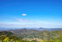 The Beauty Of Mountains And Sky At Phu Rua , Loei In Thailand.