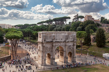 Arch Of Constantine From The C...