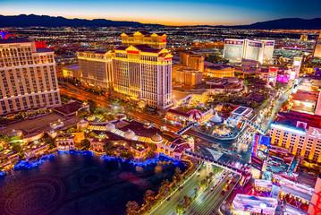 Main street of Las Vegas-is...