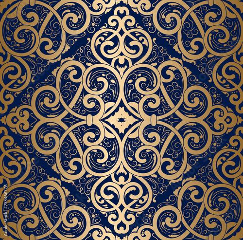 zloty-rocznik-klasyczny-ornament-bezszwowy-adamaszkowy-wzor-elegancka-klasyczna-tekstura-luksusowe-elementy-krolewskie-wiktorianskie-barokowe-nadaje-sie-do-tkanin-tekstyliow-tapet-tlo-wektor-kwiatowy