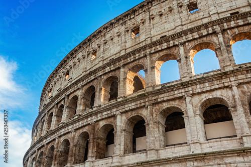 Canvastavla Colosseum stadium building in Rome
