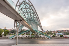 The Bridge Of Peace In Tbilisi...