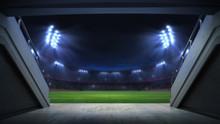 Player Entrance To Illuminated...