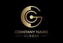 Logo Letter C And G In Gold Co...