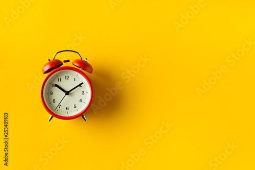 Retro Alarm Clock Canvas Print