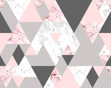 Seamless Geometric Abstract Pa...