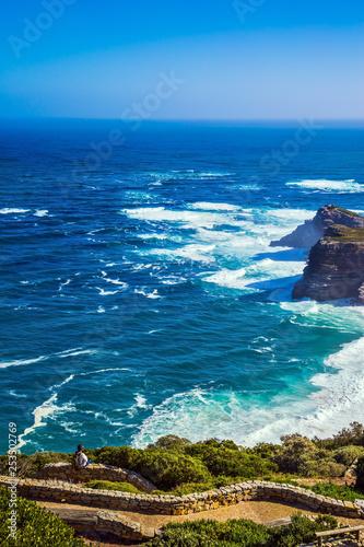 Cape of Good Hope in the Atlantic Ocean Fototapet