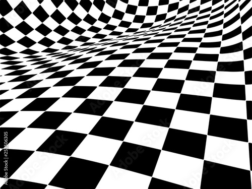 Valokuva popular checker chess square abstract background vector.