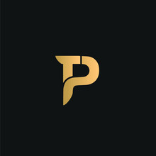 TP Or PT Logo Vector. Initial ...