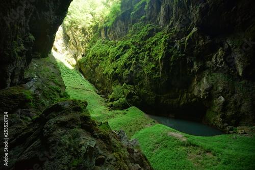Photo  Moravian Karst Macocha and Punkva cave