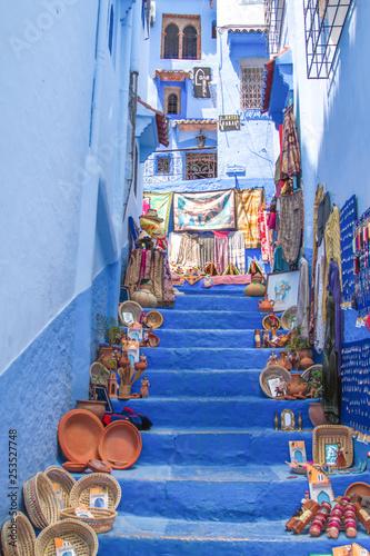 Spoed Foto op Canvas Marokko morocco Chechaouene