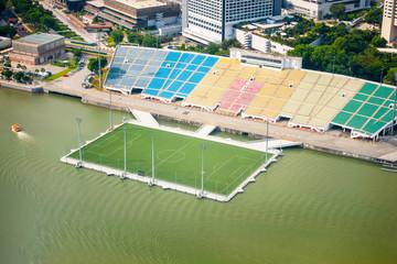 nogometno igralište u Marina Bay Sands Singapur
